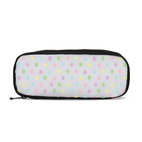 Pastel Leaves Travel Case - Herban Apparel