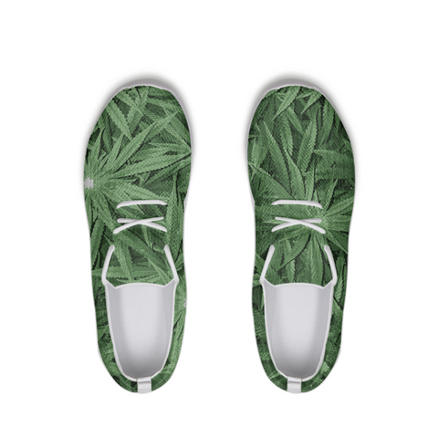 leaf-flower vector look Lace Up Flyknit Shoe - Herban Apparel