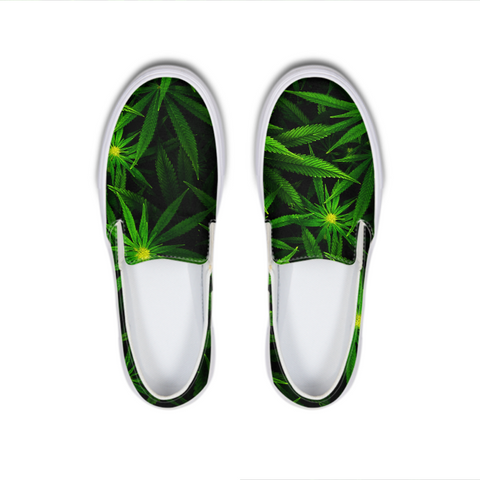 Early Flower - Slip-On Canvas Shoe - Herban Apparel
