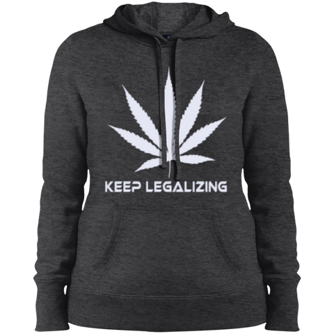 KEEP LEGALIZING -  Pullover Hooded Sweatshirt - Herban Apparel