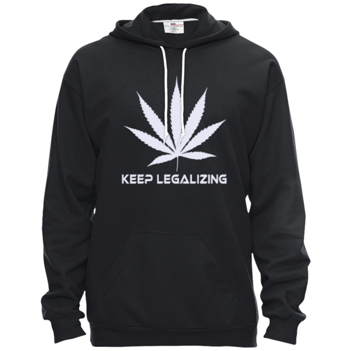 KEEP LEGALIZING - Pullover Hooded Fleece - Herban Apparel