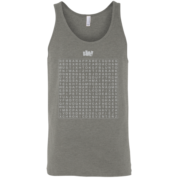 Puzzle - Bella + Canvas Unisex Tank - Herban Apparel