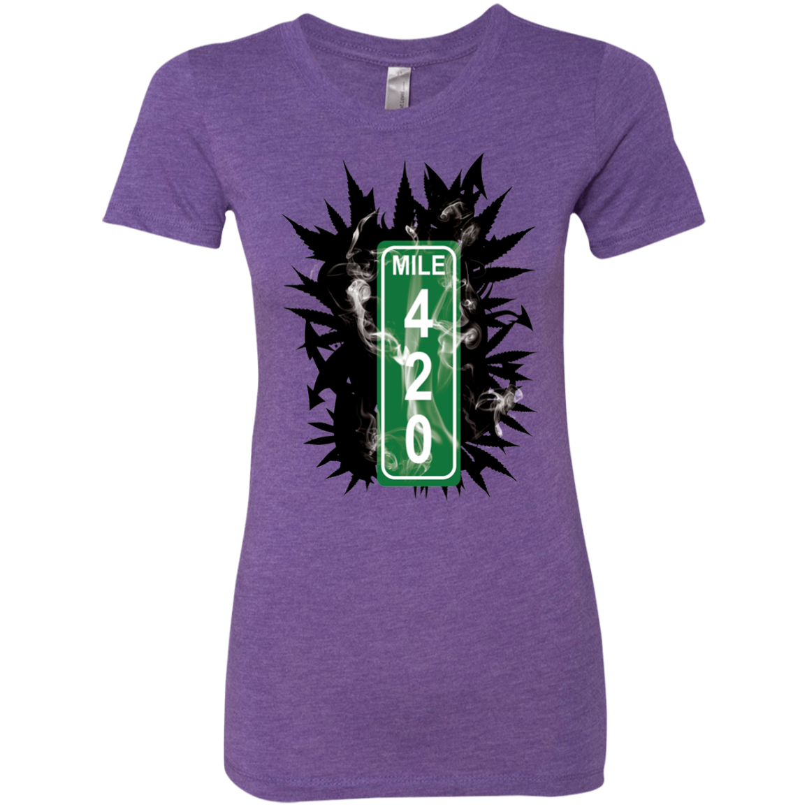 420 Smoke - Next Level tri-blend - Herban Apparel