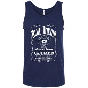 BLUE DREAM - Ringspun Cotton Tank Top - Herban Apparel