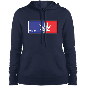 CANNA-LEAGUE -  Pullover Hooded Sweatshirt - Herban Apparel