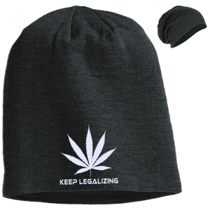 KEEP LEGALIZING - Slouch Beanie - Herban Apparel