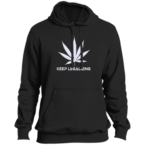KEEP LEGALIZING - Tall Pullover Hoodie - Herban Apparel