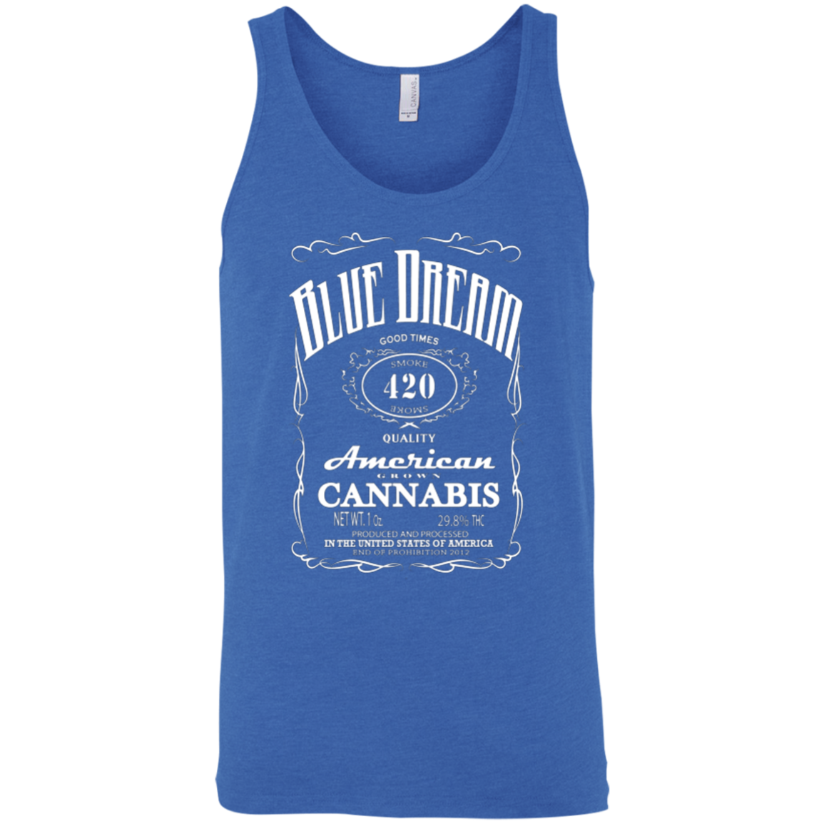 BLUE DREAM - Unisex Tank - Herban Apparel