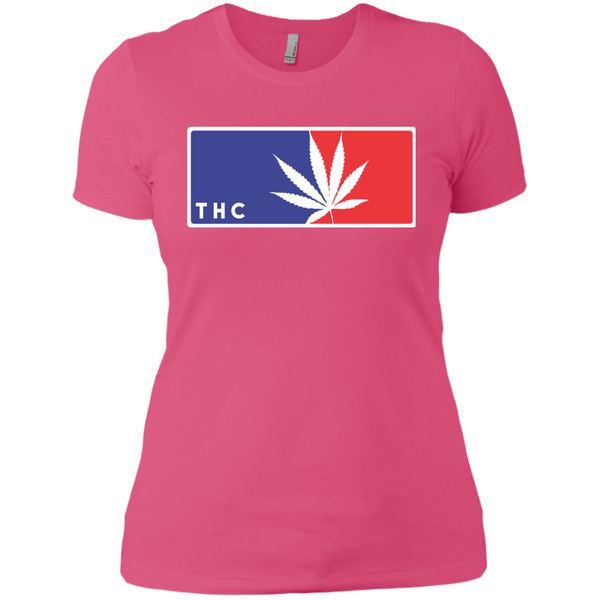 CANNA LEAGUE - Ladies' Boyfriend T-Shirt - Herban Apparel