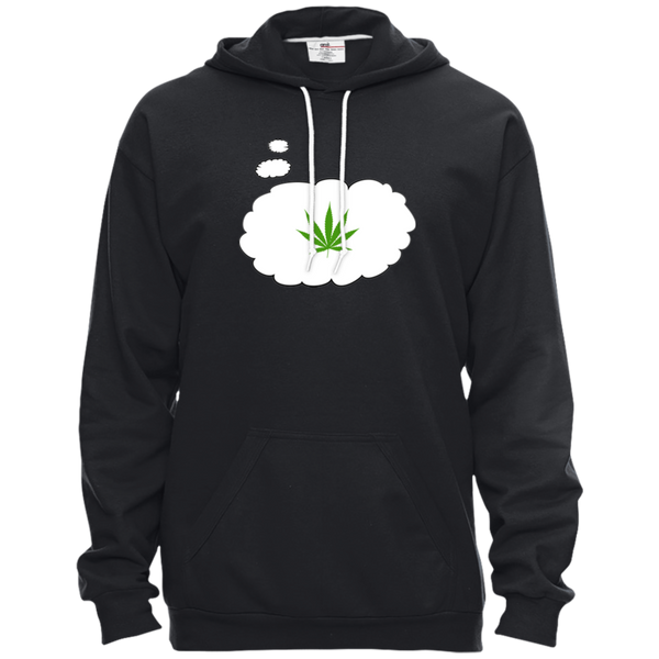 THOUGHT BALLOON - Pullover Hooded Fleece - Herban Apparel