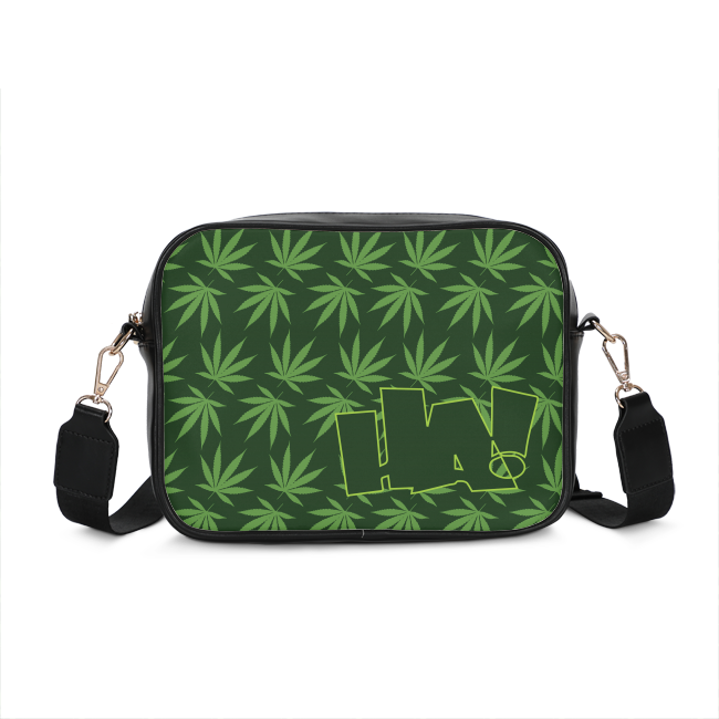 Leaf and Logo - CROSSBODY BAG - Herban Apparel
