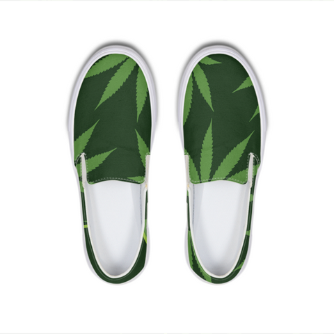 Leaf Blades -  Canvas Deck Shoe - Herban Apparel