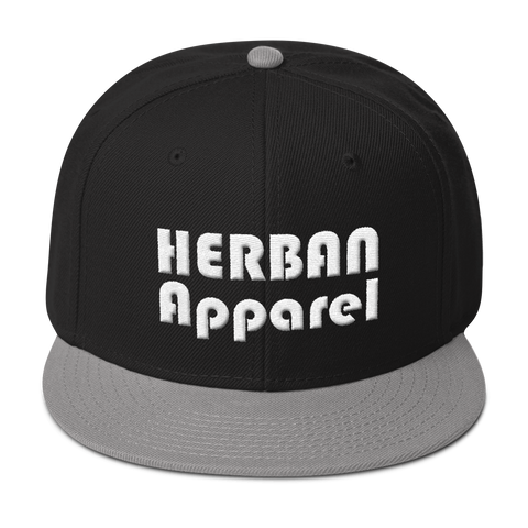 Herban Apparel Puff - Snapback Flat-bill Hat - Herban Apparel