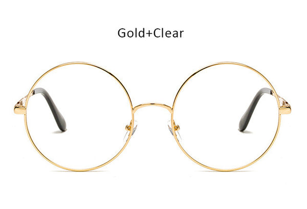 Over sized Round Sunglasses - Herban Apparel