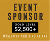 Sponsorship Museum event — Gold