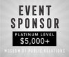Sponsorship Museum event — Platinum