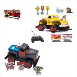 Radio Control Trucks 2 Pack:  Daisy Jo + Tailgate Party