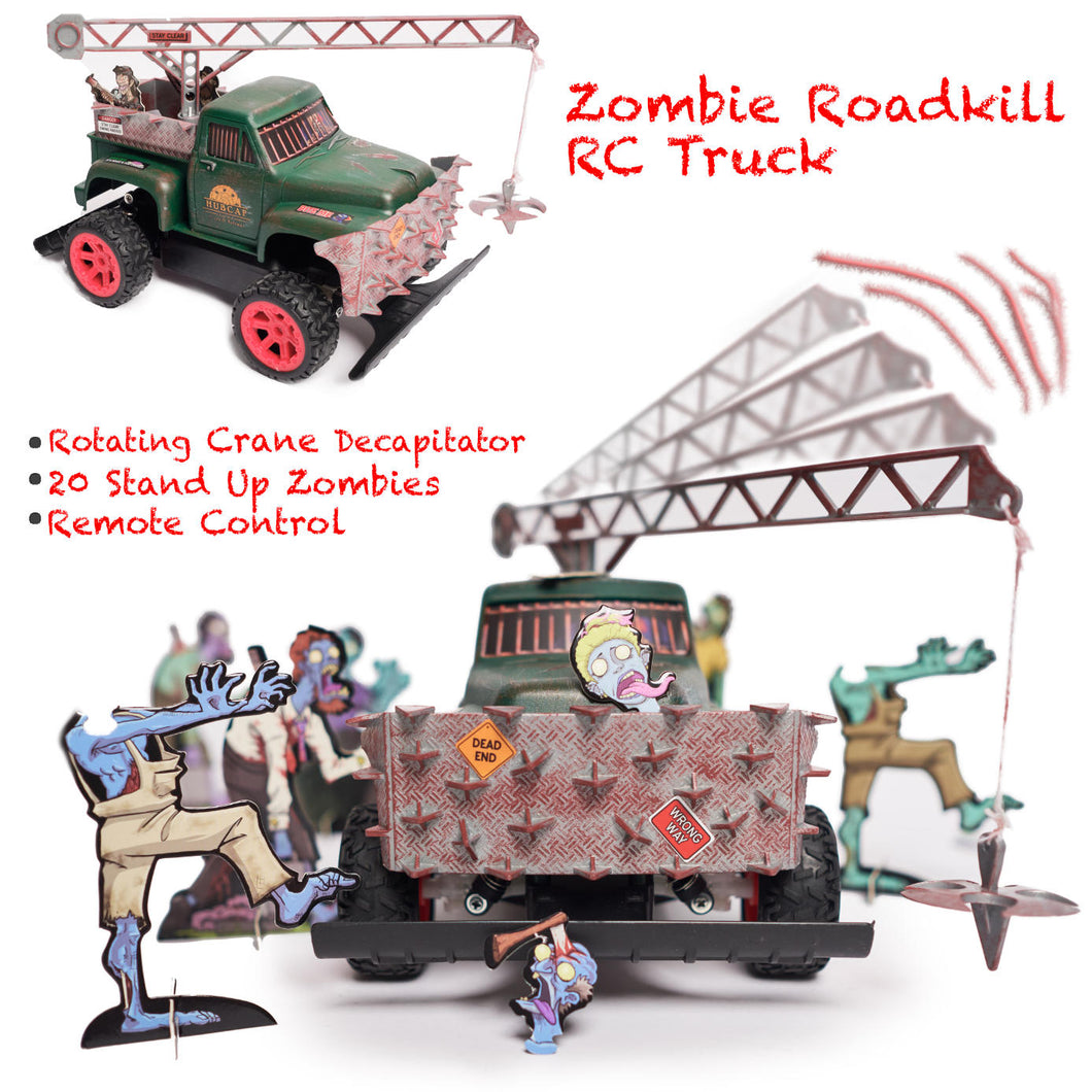 Zombie Roadkill Escape – 360 Crane Decapitator