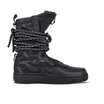 SF AF1 Hi - Black/Dark Grey
