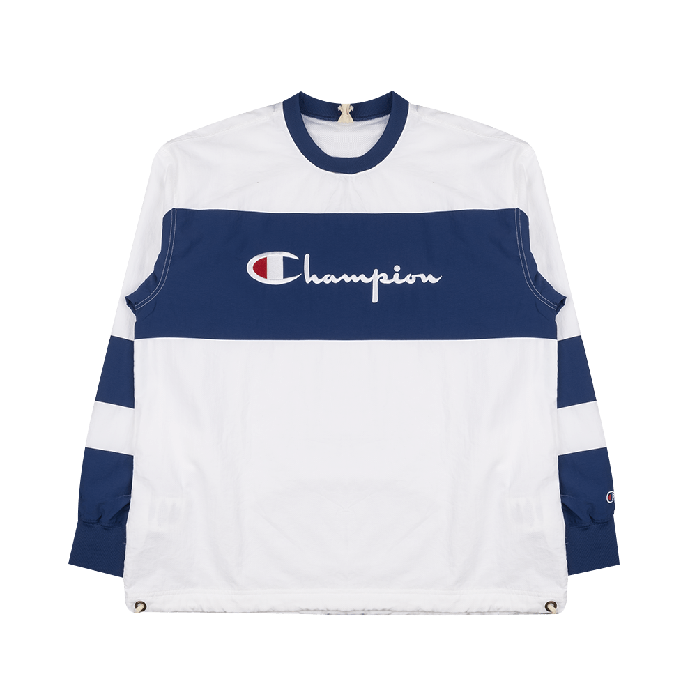 Athletic Crew-neck - Blue/White