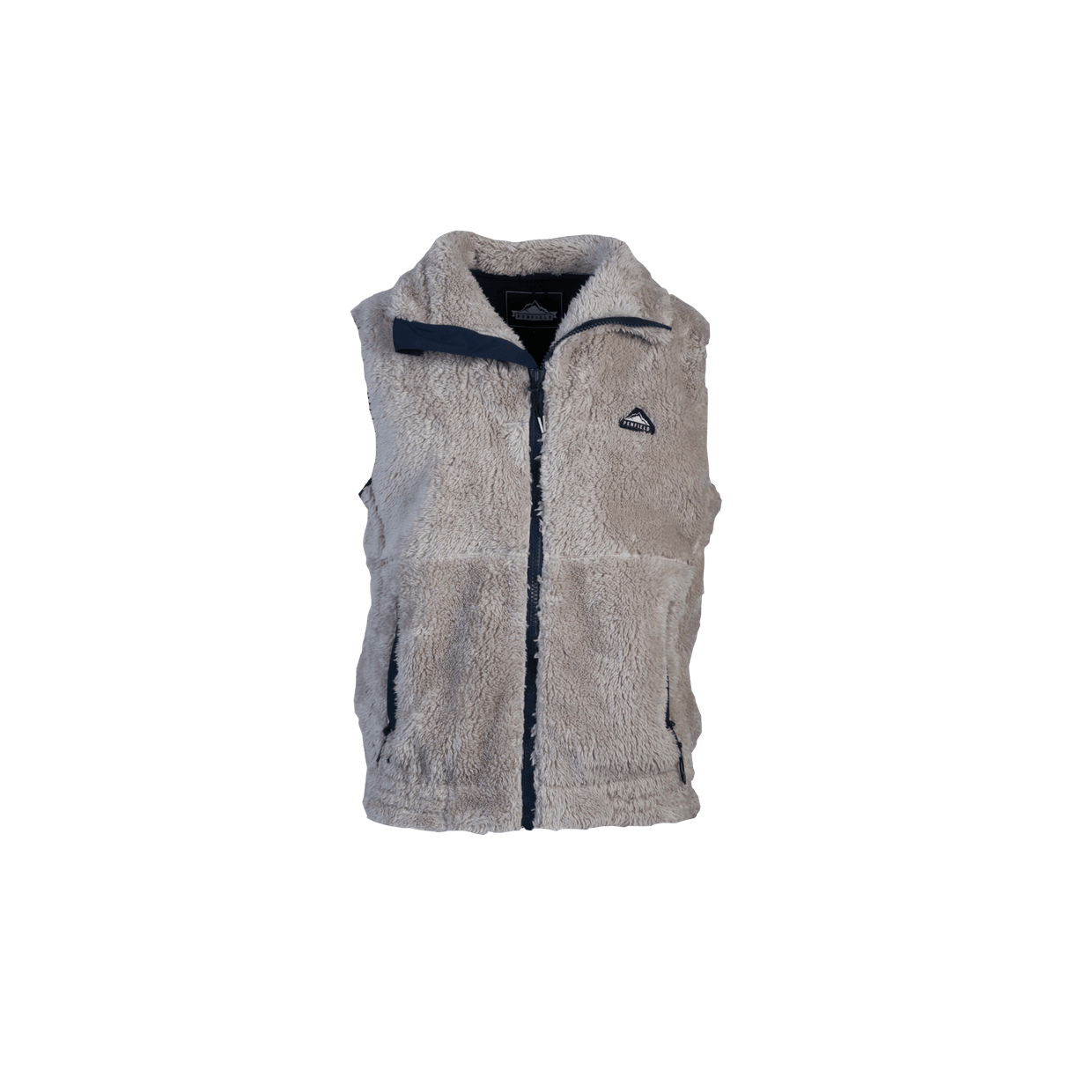 Mens EAGLE Fleece Vest - Grey