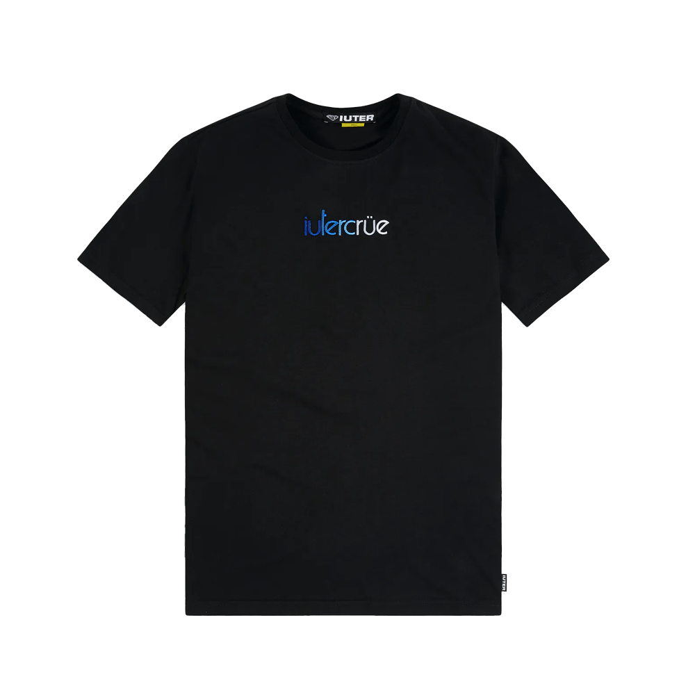 Colours Tee - Black/Blue