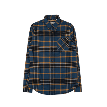 Flannel Check - Blue/Beige