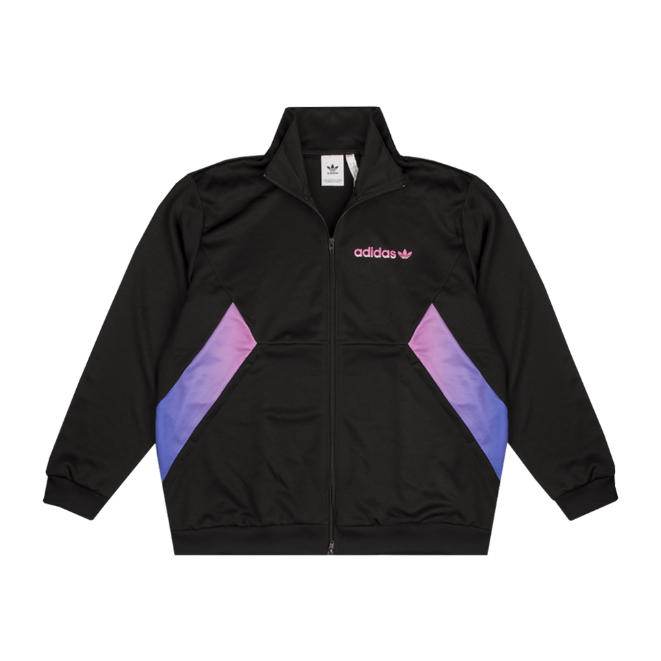 Degrade Track Top - Black