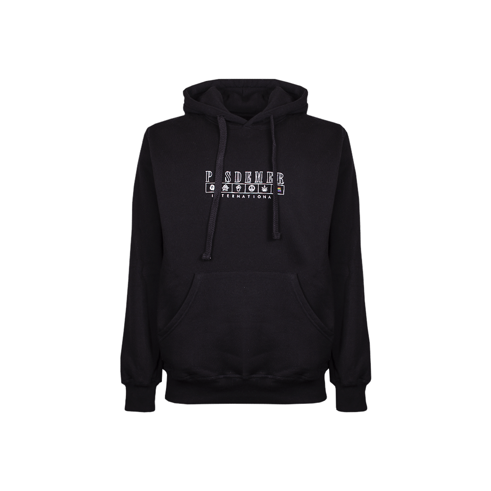International Hoody - Black