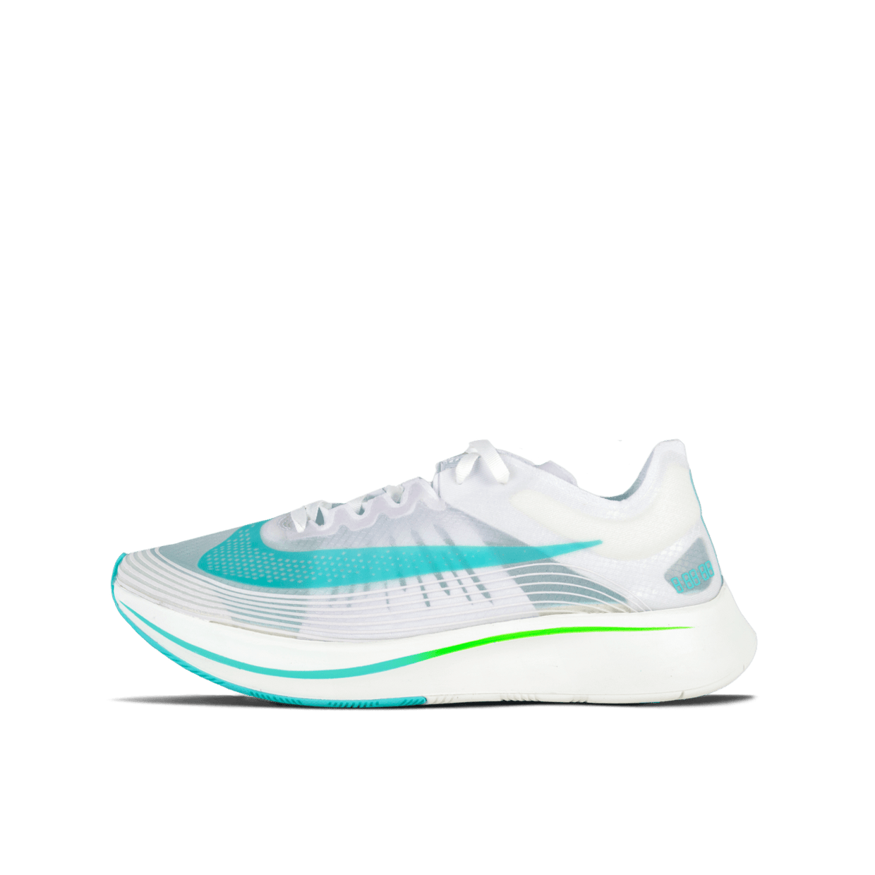 Zoom Fly SP - White/Green