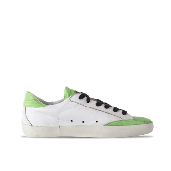 Low 204 - White/Green