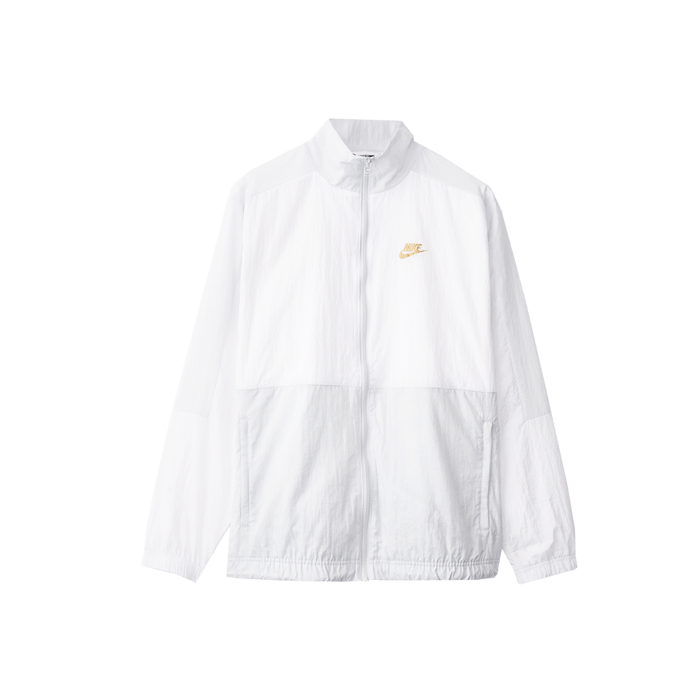 NSW SC Woven Jacket - White/Gold
