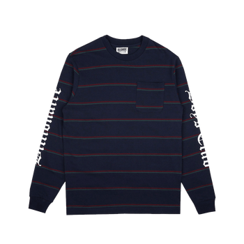 Striped Us T-shirt - Blue
