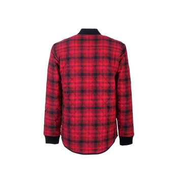 Check Jacket - Red/Black