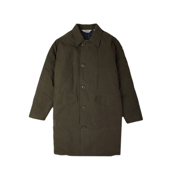 Commander Coat - Dark Olive