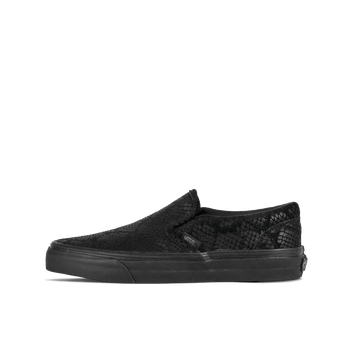 Classic Slip-On D - Black Reptile