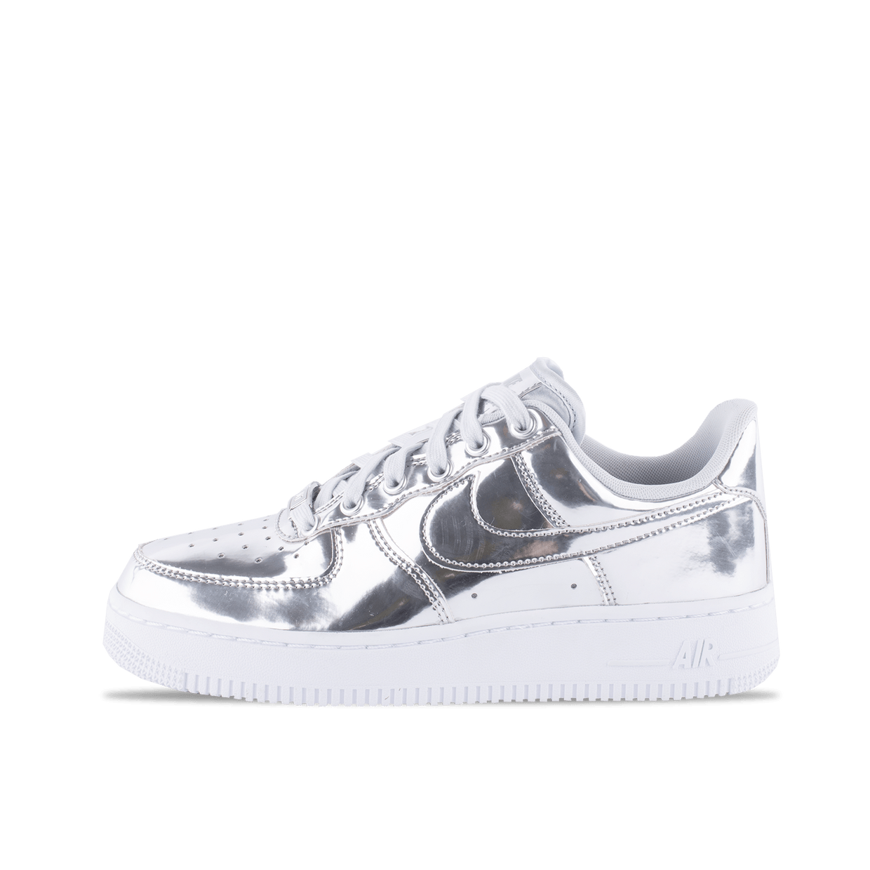 nike air force 1 argentate