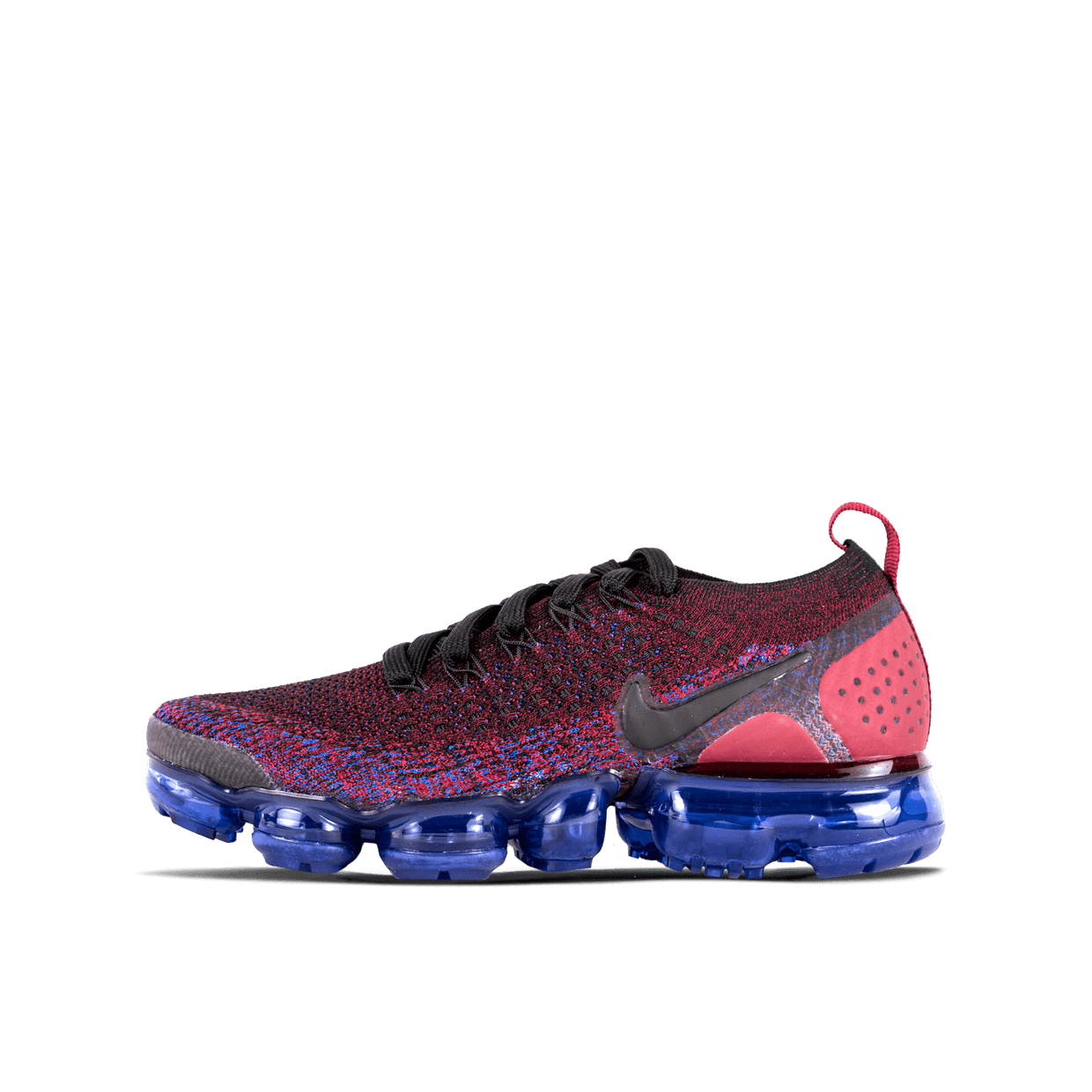 W Air Vapormax Flyknit 2 - Black/Team Red