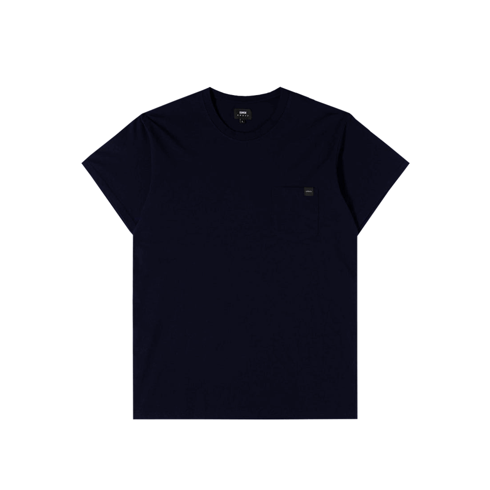 Oversized Pocket TS - Navy