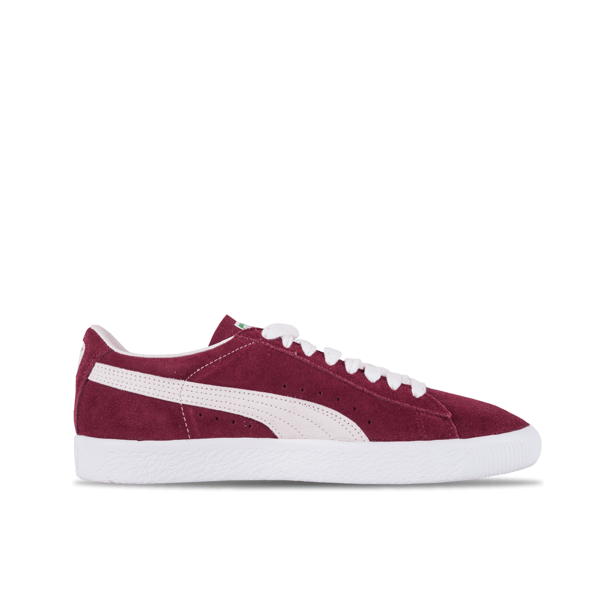 Suede 90681 - Bordeaux/White