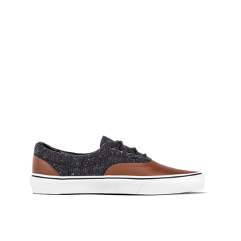 Era (Wool & Leather) - Navy/Brown