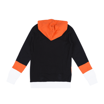 Logo Hoodie - Black/Orange/White
