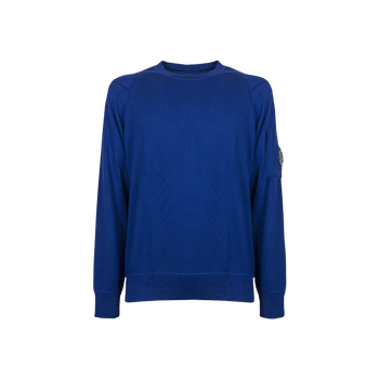 Knitwear Crew Neck - Electric Blue