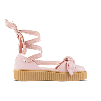 Bow Creeper Sandal - Pink