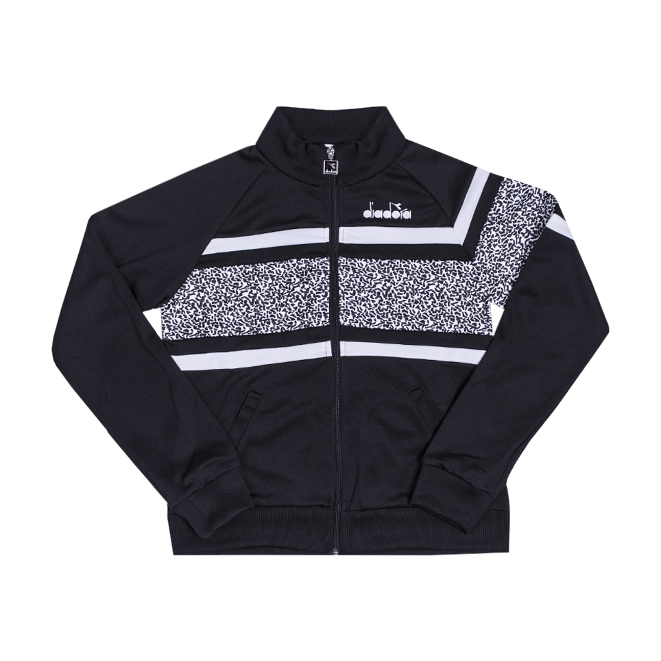 L Jacket 80S - Black/Optical White