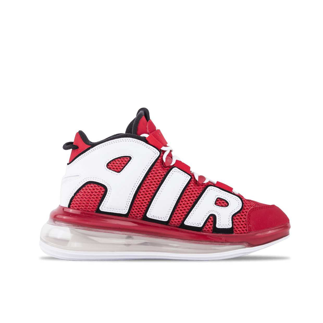 Air More Uptempo 720 QS 2 - Red/White/Black