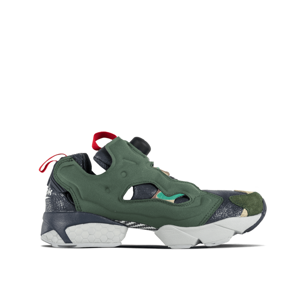 Instapump Fury OG VP - Black/Green/Grey