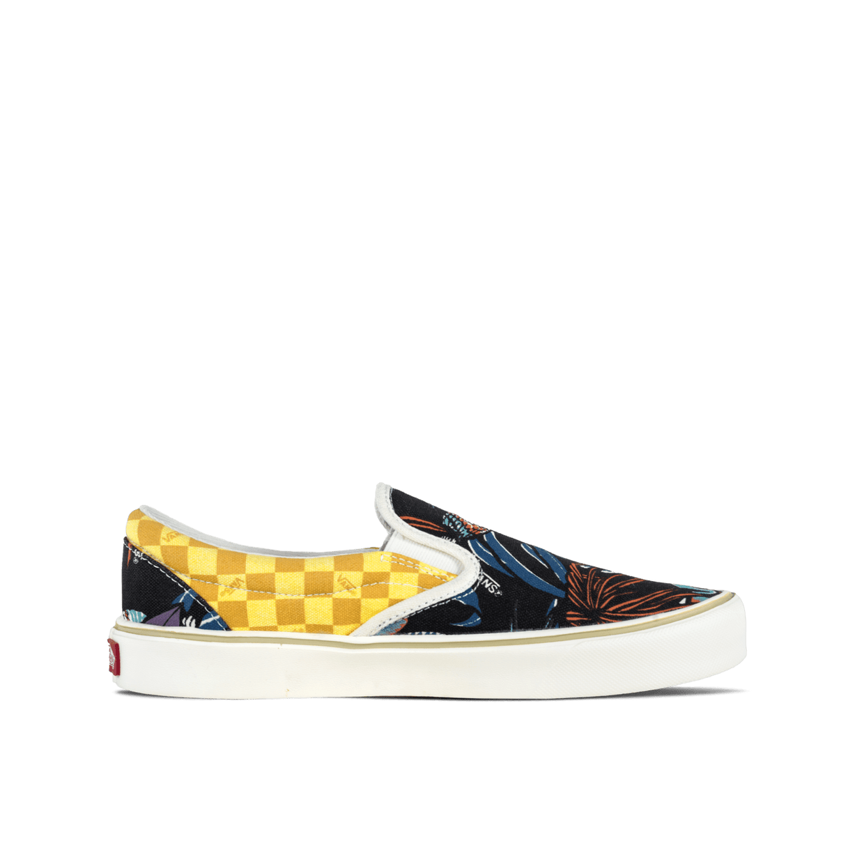 Slip-On Lite + - Black/Parrots/Check