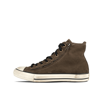 All Star CT DBL Zip Hi Tarmac - Brown