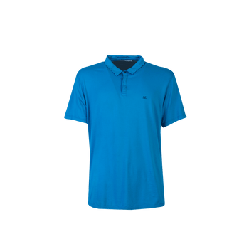 Short Sleeve Polo Shirt - Light Blue